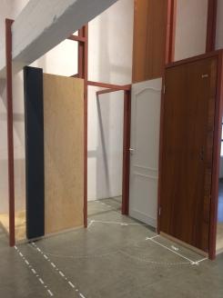 """""""Åpne dører"""" av Rodeo arkitekter."""